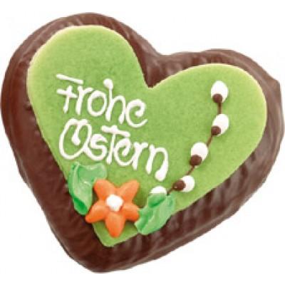 Oster-Schoko-Lebkuchenherz