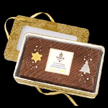 Persönliche Weihnachtsdose mit Logo oder Botschaft