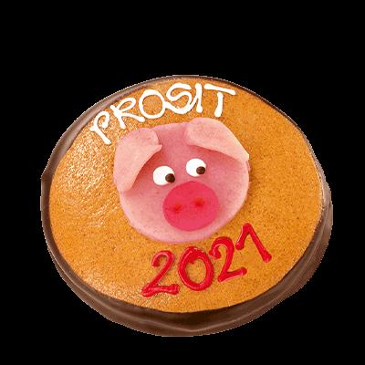 """Neujahrs-Taler """"Glücksschwein"""""""
