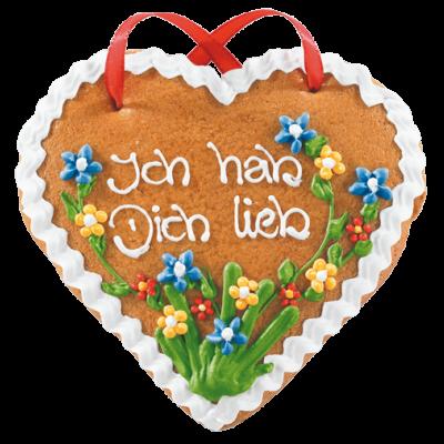 Lebkuchen-Herz groß
