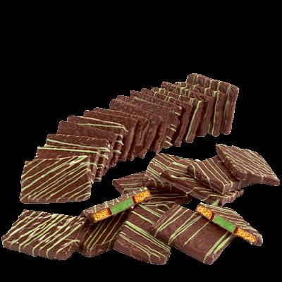 Lebkuchen-Pfefferminz-Plättchen