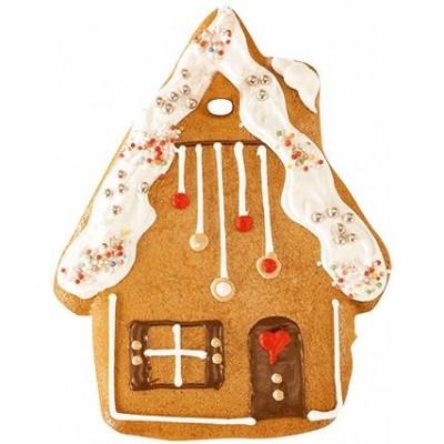 Lebkuchenhaus mit Zuckerguss