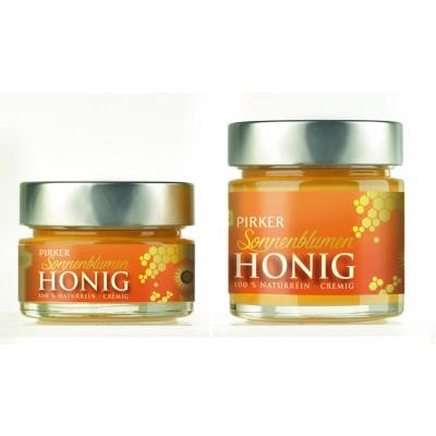 Sonnenblumen-Honig gerührt