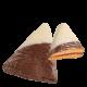 Zellerhut mit dunkler Schokolade