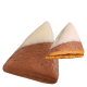 Zellerhut mit heller Schokolade