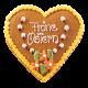 Oster-Lebkuchenherz