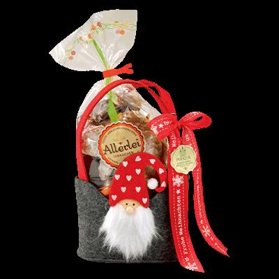 Lebkuchen-Gnome