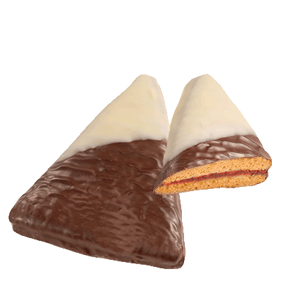 Zellerhut with dark chocolate