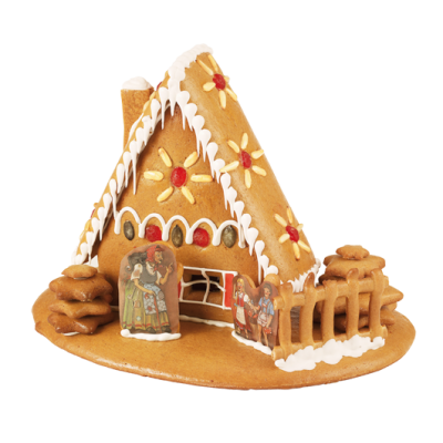 Build Your Own Gingerbread Cottage