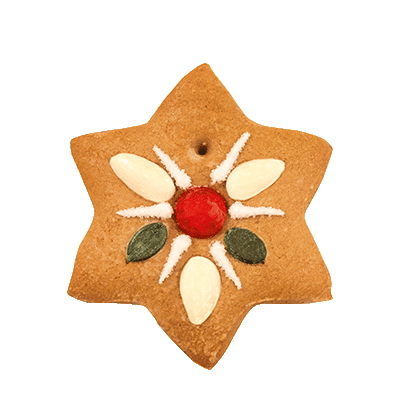 "Traditional Christmas Tree Decoration ""Star"""