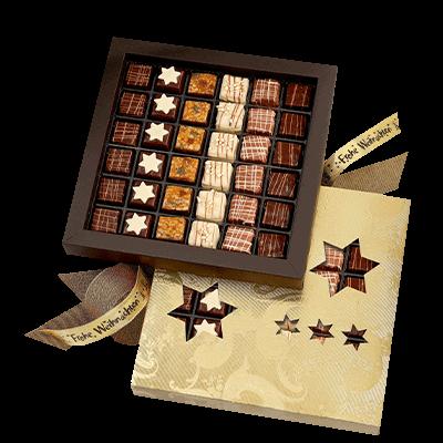 Large Lebkuchen Chocolate Box