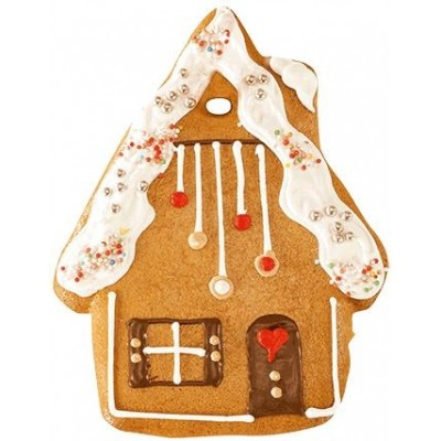 Gingerbread House with Sugar Icing
