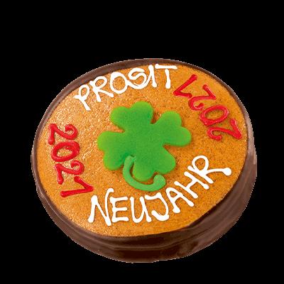 Lucky Clover New Year Coin